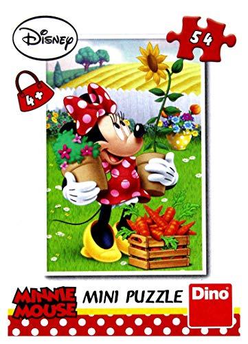 Dinotoys 331211 hoogwaardige mini decoupeerzaag puzzel 54 stuks Disney Fairy Tailes