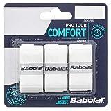 Babolat - Pro Tour x3 Blanc - Surgrip raquette de Tennis