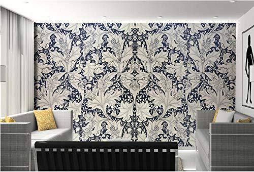 3D-Hintergründe wallpaper Handgemaltes Muster-Wohnzimmer-Sofa-Wandfernseher-Kinderzimmer im Retro-Stil-400cmx280cm