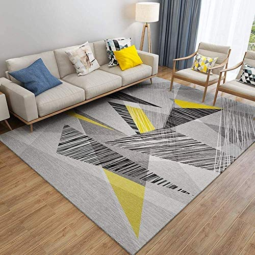 Moderner Minimalistischer Nordischer Rechteckteppich Geeignet Für Schlafzimmer Wohnzimmer Waschbares Geometrisches Muster Dekorative Türmatte (Farbe: J, Größe: 40X60Cm)