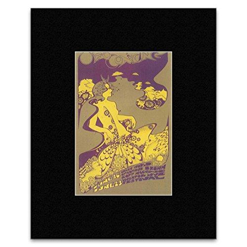 Stick It On Your Wall Mini-Poster, Motiv: Hapshash und der farbige Mantel – 19,8 x 12,8 cm