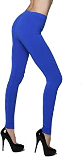Yelete New Lady's Solid Color Nylon Seamless Leggings