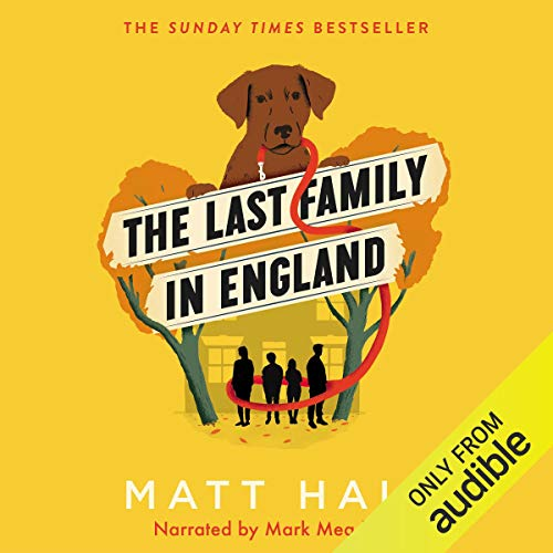 The Last Family in England audiobook cover art