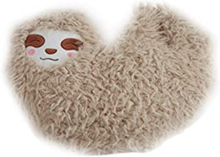 NUOBESTY Animal Plush Sloth Pillow Toy Gifts Stuffed Cute Animal Sloth Pet Pillow Living Room Decoration Hugging Cushion