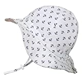 Baby Sun Hat with Chin Strap, Drawstring Adjust Head Size,...