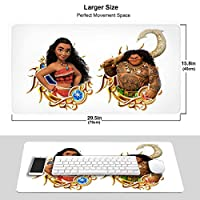 マウスパッド モアナと伝説の海 (1) おしゃれ 周辺機器 大型 3d柄プリント ゲーミング マウスパッド 人気 防水 滑り止め オフィス デスクマット キーボードパッド 水で洗える パソコン マウスパッド