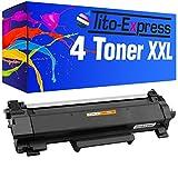 Tito-Express PlatinumSerie 4 Toner XXL für Brother TN-2420 HL-L2310D L2375DW L2370DN MFC-L2710DN L2710DW L2712DN L2712DW L2730DW L2732DW L2750DW L2510D L2512D L2550DN | MIT CHIP