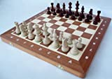 ChessEbook TOURNAMENT No. 4 A - Ajedrez de Madera, Tablero de 40 x 40 cm