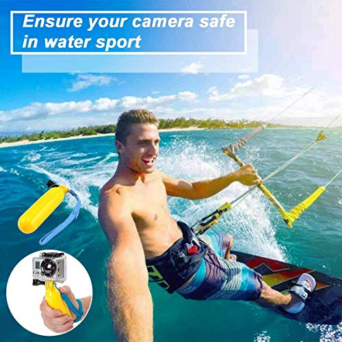Soft Digits 50 in 1 Action Camera Accessories Kit for GoPro Hero Accessory Bundle kit for GoPro Hero 8 7 6 5 4 Xiaomi yi with Carrying Case