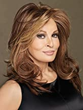 Spotlight Wig Color RL19/23SS SHADED BISCUIT - Raquel Welch Wigs Heat Friendly Synthetic Lace Front Monofilament Top Women's Long Layered Open Weft Coolness