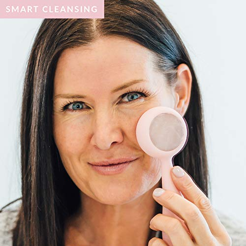 PMD Clean Pro RQ - Smart Facial Cleansing Device, Blush with Rose Quartz