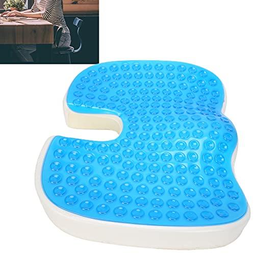 Cojín de gel, sin deformaciones Cojín de gel en forma de U para silla de ruedas para silla