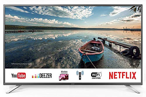 Sharp 40BG2E - Televisor Smart TV FHD de 40' - 40 Pulgadas WiFi - (resolución 1920 x 1080, 3 x HDMI, 2 x USB), Color Negro, Sonido Harman/kardon, Clase energética A+