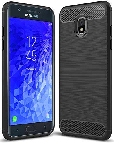Sucnakp for Samsung Galaxy J7 2018 case, Galaxy J7 V 2nd Gen Case,Galaxy J7 Refine Case,Galaxy J7 Aero,J7 Star,J7 Top,J7 Crown,J7 Aura,J7 Eon,J737V,J737T,TPU Protective Case Cover(Black)