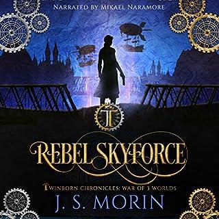 Rebel Skyforce audiobook cover art