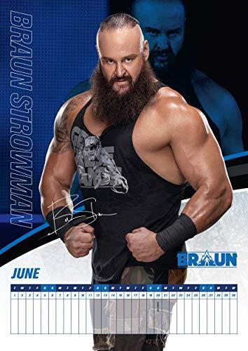 Danilo Promotions Ltd. Wrestling Men 2021 Calendar - Official A3 Wall Format Calendar NA, bunt