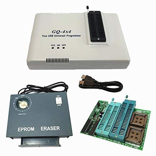 GQ PRG-113 GQ-4X V4 (GQ-4X4) Programador universal USB + EPROM Eraser + 16 bits EPROM Adaptador Soporte 28F102 27C400 27C800 27C160 27C322 27C1024 27C2048 27C48 27C48 096 2 7c4002 M27C322.