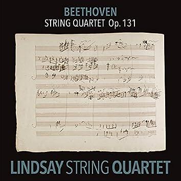 Beethoven: String Quartet in C-Sharp Minor, Op. 131 (Lindsay String Quartet: The Complete Beethoven String Quartets Vol. 9)
