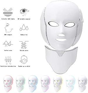 7-kleuren Led Beauty Light Mask Professioneel anti-rimpel Beauty Instrument met 360 ° Beauty Skin Care en 192 Led Lamp Bea...