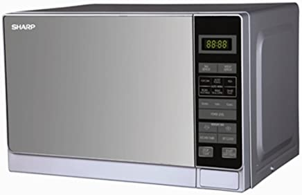 Sharp Stainless Steel Microwave Oven, (R-22AO(SM) V)