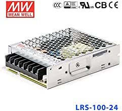 MeanWell LRS-100-24 Power Supply - 100W 24V