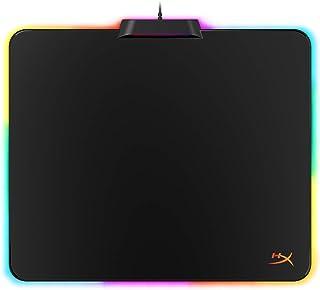 HyperX HX-MPFU-M FURY Ultra – musmatta med hård yta och 360° RGB-belysning