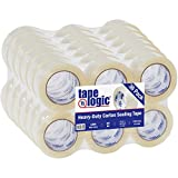 Aviditi Tape Logic 2 Inch x 110 Yard 2.6 Mil Clear, Heavy Duty Acrylic Packing Tape, 36 Pack, Perfect for Packing, Shipping, Moving, Home and Office