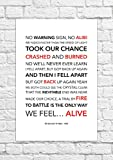30Seconds To Mars–Alibi–Songtext, Poster,