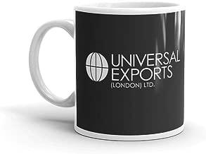 rangerpolocon James Bond - Universal Exports (London) Ltd 11Oz Ceramic Coffee Mugs Cup Tea Easy Grip Handle