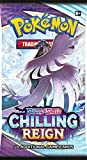 Pokemon Sword and Shield Chilling Reign Sleeve Boosters - 8 paquetes al azar