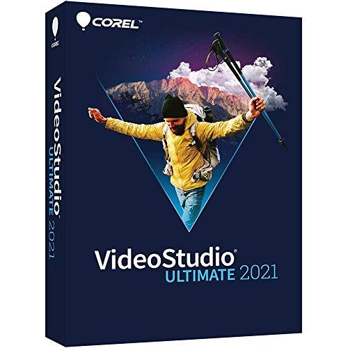 Corel VideoStudio 2021 Ultimate Software di Editing Video, Disco per PC