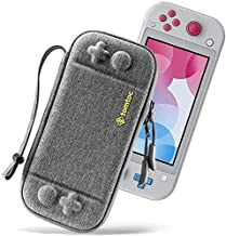 tomtoc Slim Case for Nintendo Switch Lite, Original Patent Protective Portable Carrying Case Travel Storage Hard Shell wit...