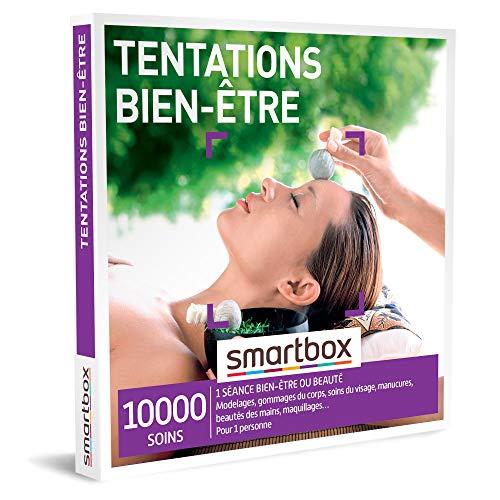 SMARTBOX - coffret cadeau fête des mères - Tentations bien-être - idée cadeau originale - 1 séance bien-être ou beauté pour 1 personne