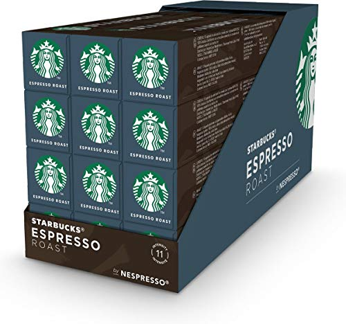 Starbucks® - Espresso Roast by Nespresso® Dark Roast - 12x 10 Capsules