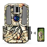 WiFi Trail Camera 30MP 1440P HD 2.0' Color LCD,Hunting Game Camera with Night Vision Motion Activated Waterproof for Wildlife Monitor The Security of Offices Families The General Public and More