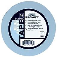 PRO ART 1/2-Inch by 60-Yards Artist Tape, Blue (1251689)