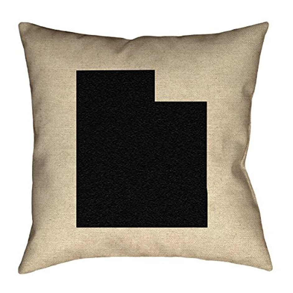クモ伴う傀儡ArtVerse Katelyn Smith Utah 20 x 20 Pillow-Spun Polyester [並行輸入品]