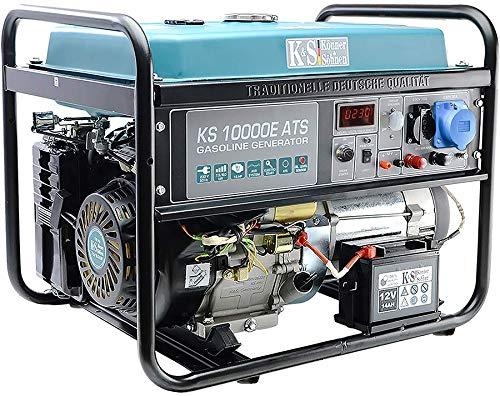 K&S | Könner&Söhnen | Benzin Generator | 230V Stromaggregat | KS10000E ATS | 8KW | Stromerzeuger Profi