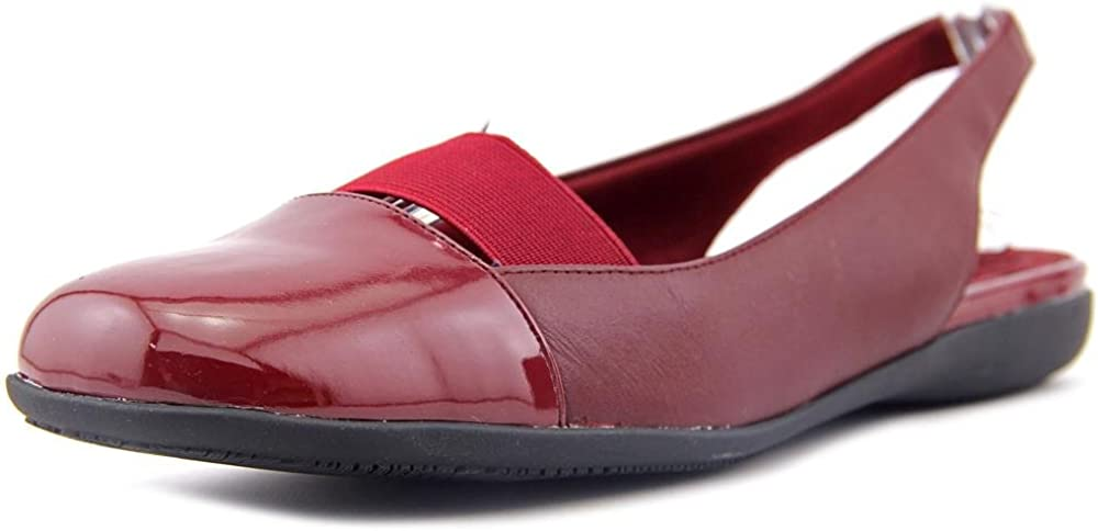 Trotters Sarina Ballet Super intense SALE Limited price Flats Dk Red 7 Combo M