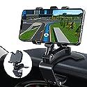 GESMA Handyhalterung Auto, Handy Autohalterung, um 360 Grad drehbare einstellbare Auto Handyhalter für 4 bis 7 Zoll Smartphones.