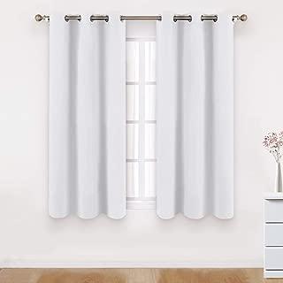 Best room darkening drapes white Reviews
