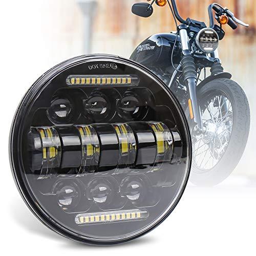 MOVOTOR 5.75インチ LED ヘッドライト 66W デイライト付き Hi/Lo切り替え