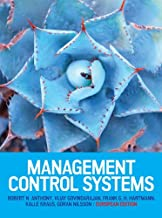 EBOOK: Management Control Systems: European Edition (UK Higher Education Business Accounting)