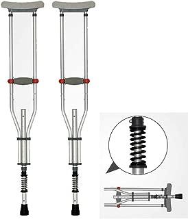 shock absorbing crutch ferrules