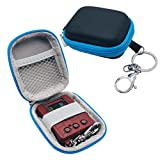 JCHPINE Hard Travel Case for Digimon Bandai Original Digivice Virtual Pet Monster, Protective Carrying Case for Monster Pet Machine(Case Only) (Blue)
