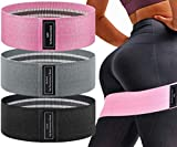 Yarrashop- Resistance Loops Bands Set for Exercise Beachbody Working Out Women Butt and Legs Exercise Stretching Physical Therapy Non-Slip, Workout Bands, Stretch Bands, Barre Resistance Band Loop