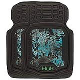 HUK Fishing Front Floor Mats | Kryptek Neptune | Set of 2 (C000117190199)