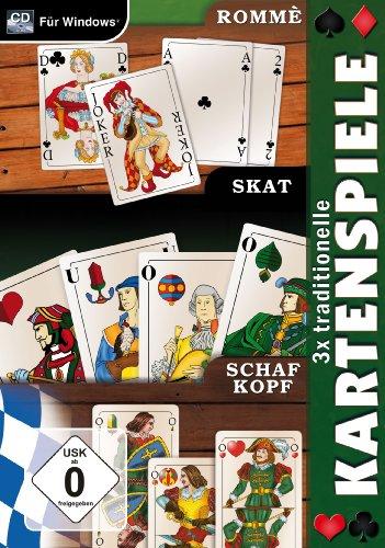 3x traditionelle Kartenspiele - [PC]