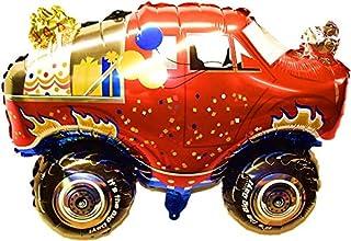 SauParty XL Helio Globo de Plástico Monster Truck Grande Auto Todoterreno Juguetes Niños