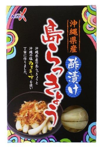 沖縄県産島らっきょう 酢漬け ぬちまーす入り